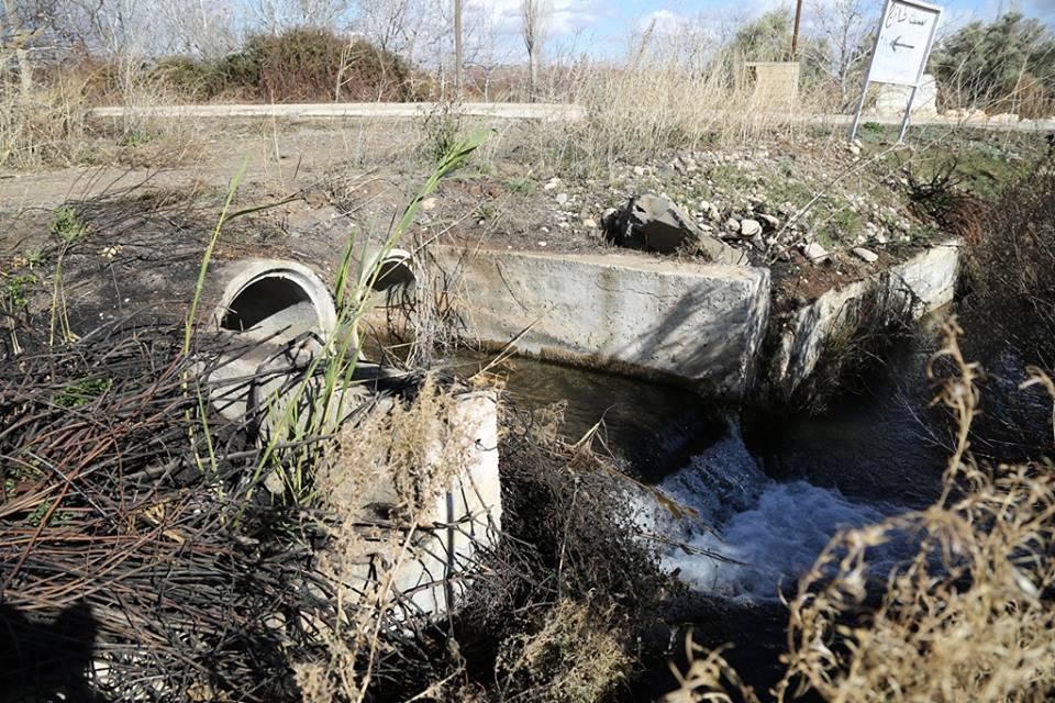 Photo of مياه نبع الطماثية في قرية المقروصة