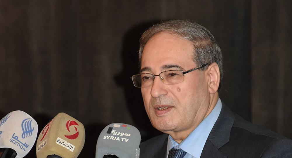 Photo of فيصل المقداد: نطالب تركيا بسحب قواتها من سوريا