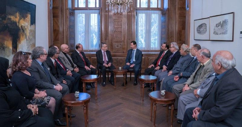 Photo of الأسد: الحرب على سوريا كانت حرب فكرية وإعلامية
