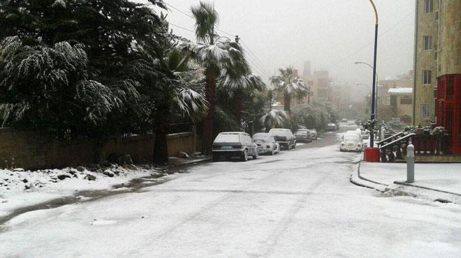 Photo of الثلوج تغلق عدة طرق بالسويداء والقنيطرة