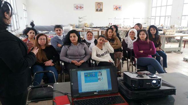 Photo of مراكز تدريب بالسويداء لتمكين المراة مهنياً