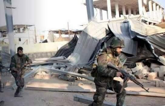 Photo of اشتباكات عنيفة وغارات جوية على إرهابيي حرستا