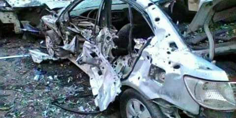 Photo of Shelling attack in Damascus Countryside leavs only material damage