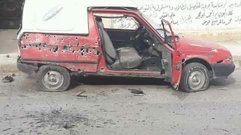 Photo of جرحى بقذائف إرهابية جديدة على ضاحية الأسد