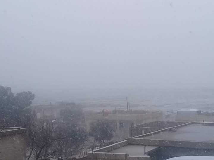 Photo of ثلوج وأمطار أغزرها بحضر بالقنيطرة
