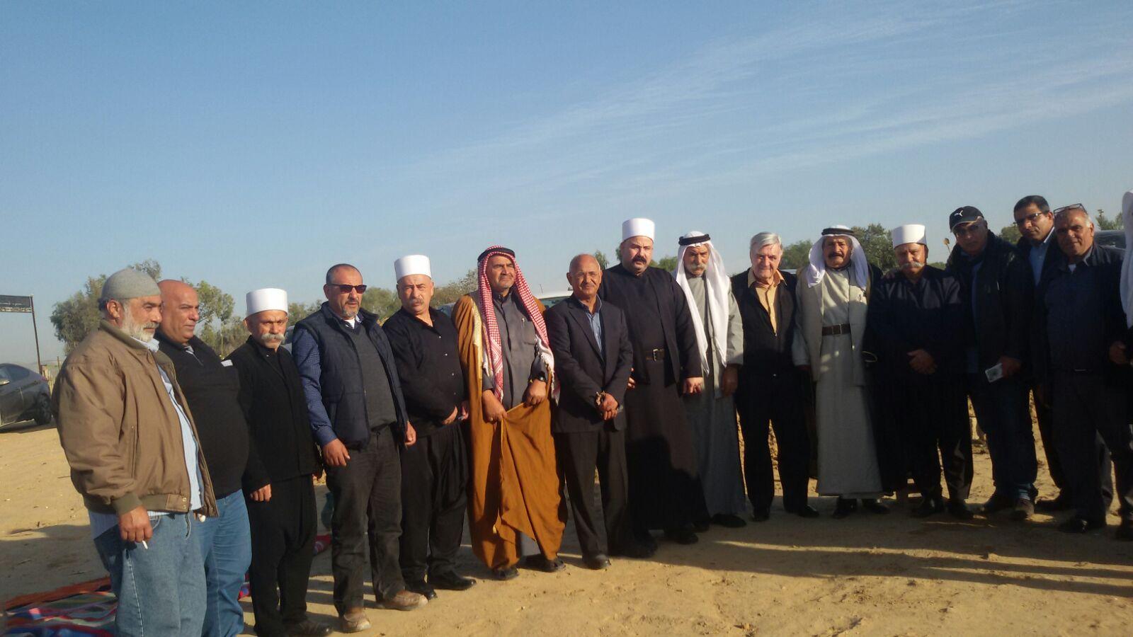 Photo of الحركة الوطنيّة للتواصل في زيارة تضامنيّة تواصليّة مع العراقيب