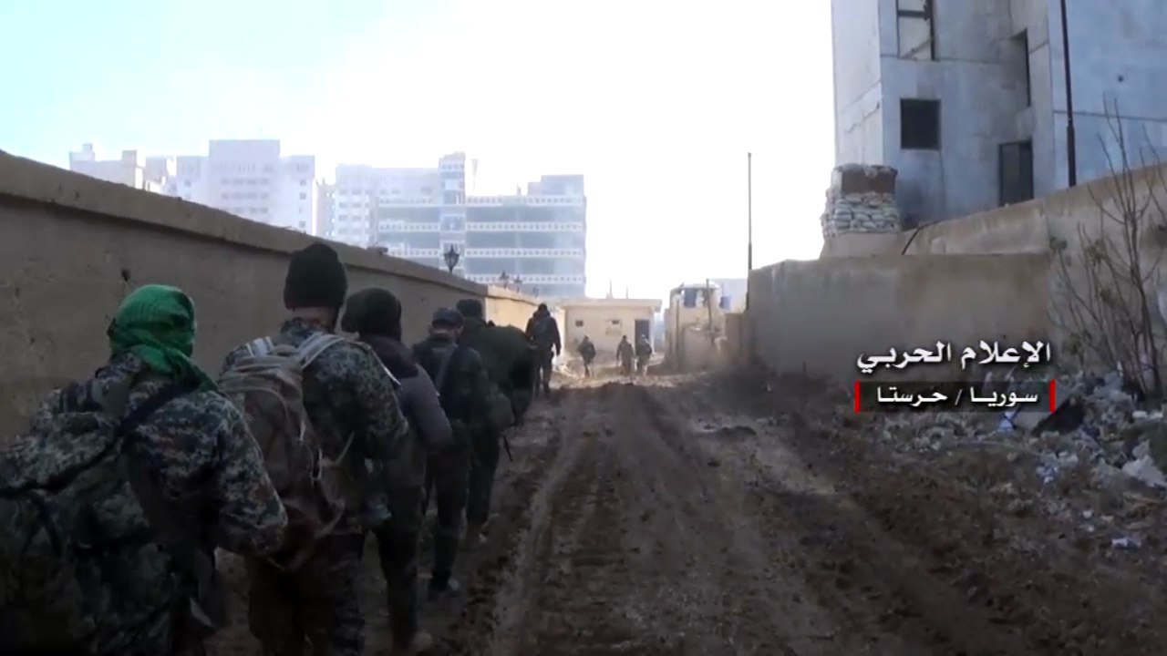Photo of هجوم جديد يفشله الجيش باتجاه ادارة المركبات بحرستا
