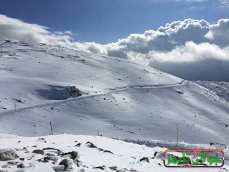Photo of منتجع جبل الشيخ السياحي يفتتح اليوم
