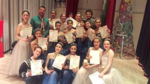 Photo of Syrian Ballet students qualify for final stage of Belarusian Talent Competition
