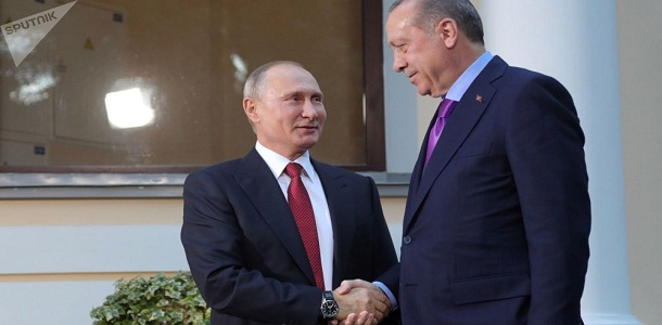 Photo of Putin, Turkish regime's President: Implementing results of Sochi's congress to enhance Syrian political settlement