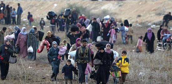 Photo of Ten thousand displaced people return to their hometown of al-Bowedha in Damascus Countryside