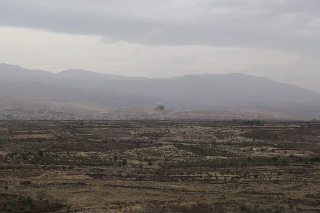 "Photo of ""بيت جن"" تواصل تسليم أسلحتها للجيش"