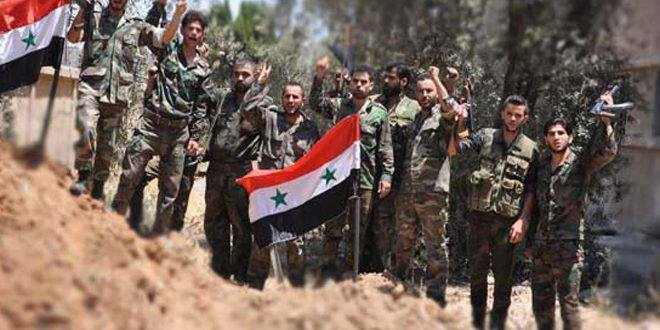 Photo of Syrian Army advances on direction of Mesraba-Aftris farms, continues operations to root out terrorists from eastern Ghouta