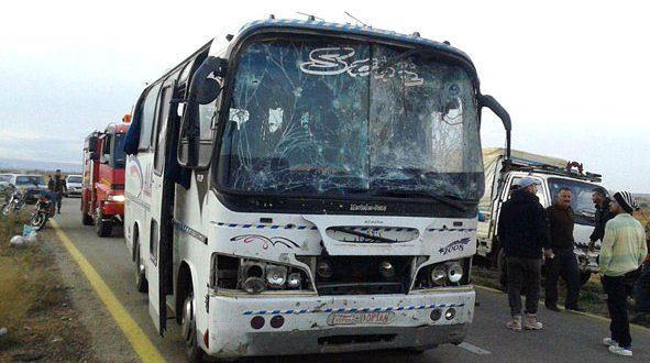 "Photo of بالتفاصيل- هذا ما حصل على طريق ""دمشق-السويداء"""