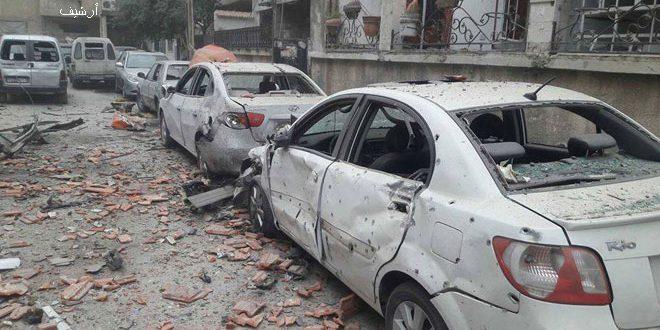 Photo of إصابة أطفال وأضرار مادية بقذائف الغوطة على دمشق