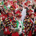 """طقوس جنونية بـ  """"مهرجان الورد""""  بألمانيا(صور)"""