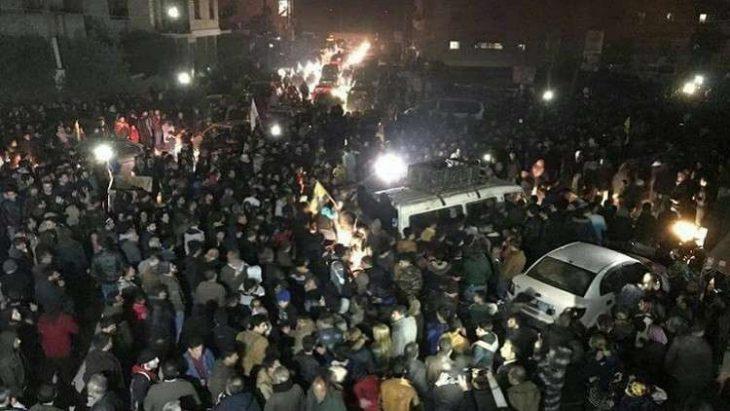 Photo of عبر حواجز الجيش .. قافلة تعزيزات إلى أكراد عفرين