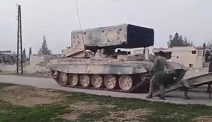 Photo of أقوى قاذفة لهب بالعالم فقط في سوريا