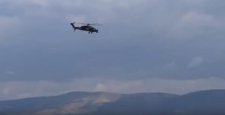 Photo of إسقاط مروحية عسكرية تركية بعفرين