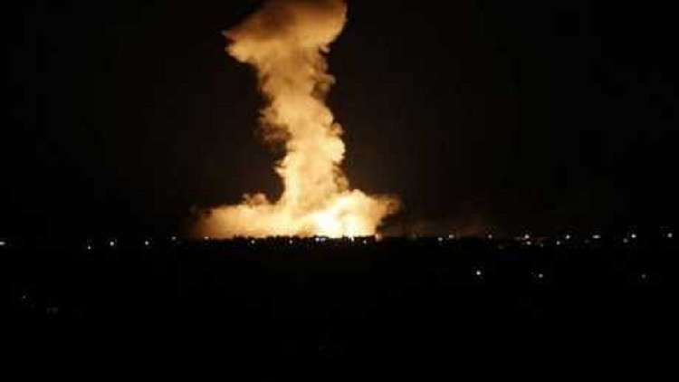 Photo of تجدد القصف الإسرائيلي على قطاع غزة