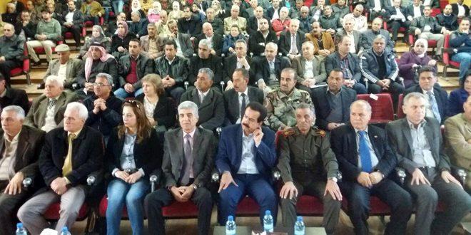 "Photo of أبناء القنيطرة يؤكدون… ""الجولان عائد لسيادة السورية"""