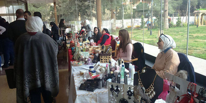 Photo of With the participation 68 businesswomen, Aleppo Rising fair kicks off