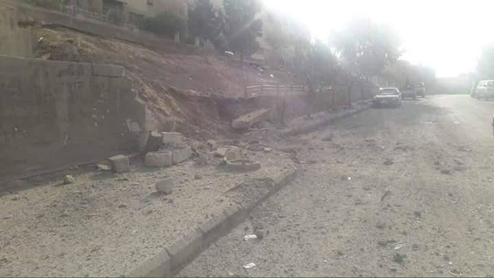Photo of بالصور- قذائف إرهابيو الغوطة على ضاحية الأسد