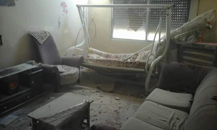 Photo of بالصور- هذه قذائف ارهابيو الغوطة على دمشق