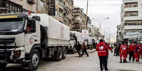 Photo of SARC delivers aid to 1440 families in Eastern Ghouta