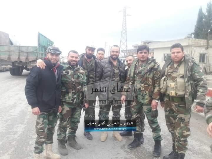 Photo of بالفيديو- أرتال عسكرية تابعة لقوات النمر تصل الغوطة الشرقية
