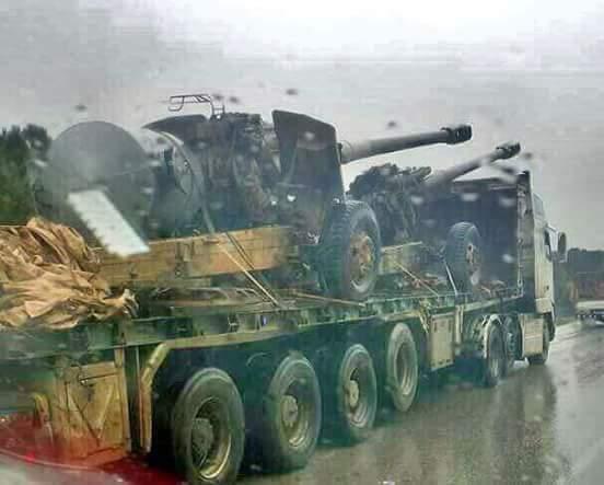 Photo of أرتال طلائع النمر لتحرير الغوطة (فيديو)