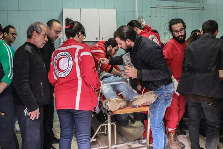 Photo of Five civilians killed, 20 injured by armed groups' shelling attacks on Damascus and its countryside