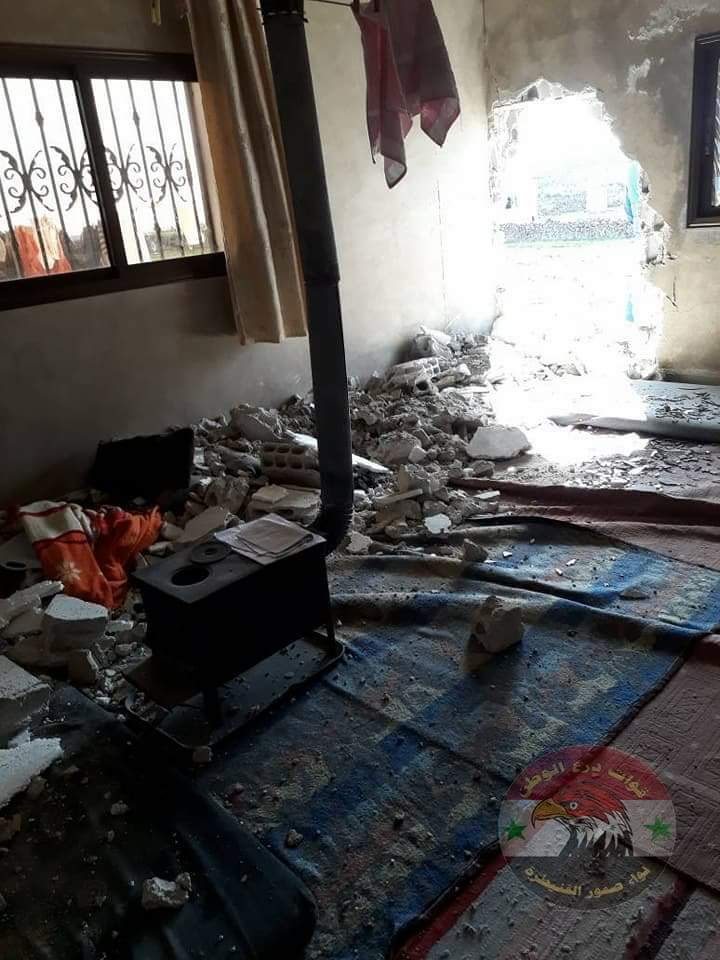 Photo of Material damage was caused in terrorist attacks in Quneitra