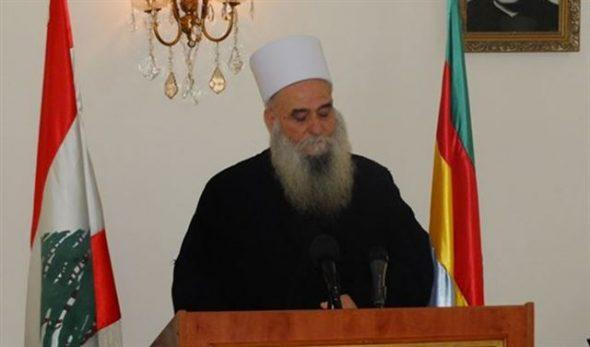 """Photo of الشيخ """"الغريب"""" يستنكر قذائف الغدر من إرهابيي الغوطة"""
