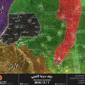 باسناد صاروخي اسرائيلي… معارك بين الحر وداعش بحوض اليرموك
