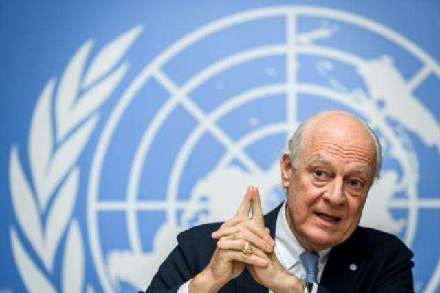 Photo of دي ميستورا يأمل بوقف إطلاق النار في الغوطة الشرقية