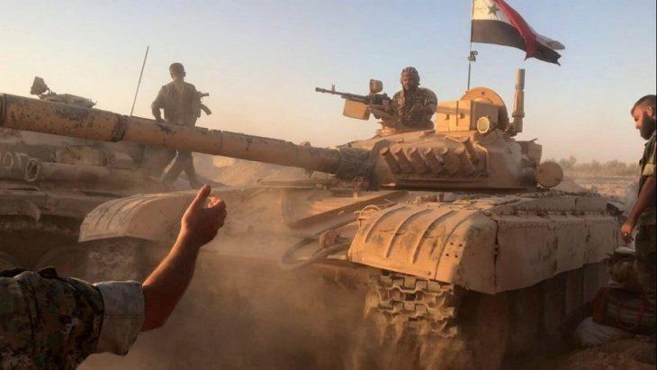 Photo of رداً على الخروقات… الجيش يقصف إرهابيي درعا