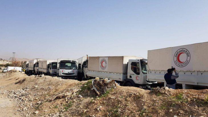 Photo of بماذا تعّهد إرهابيو الغوطة مقابل إدخال المساعدات