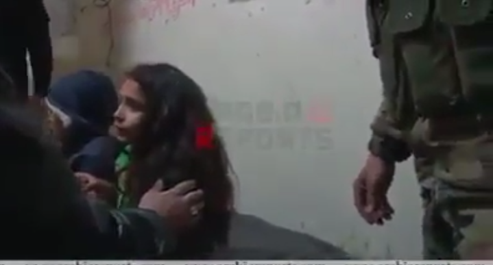 Photo of Two children reach Syrian Army points , their parents martyred while living Ghouta