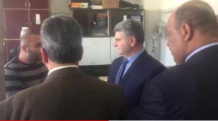 Photo of (فيديو) زيارة مفاجئة لمحافظ القنيطرة إلى مديرية التربية