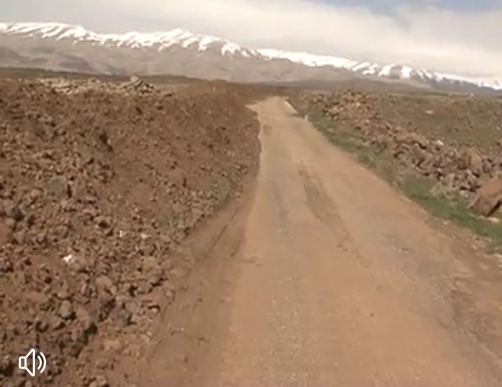 "Photo of (فيديو) طريق ""حرفا- حضر"" خارج منذ ثلاث سنوات!"