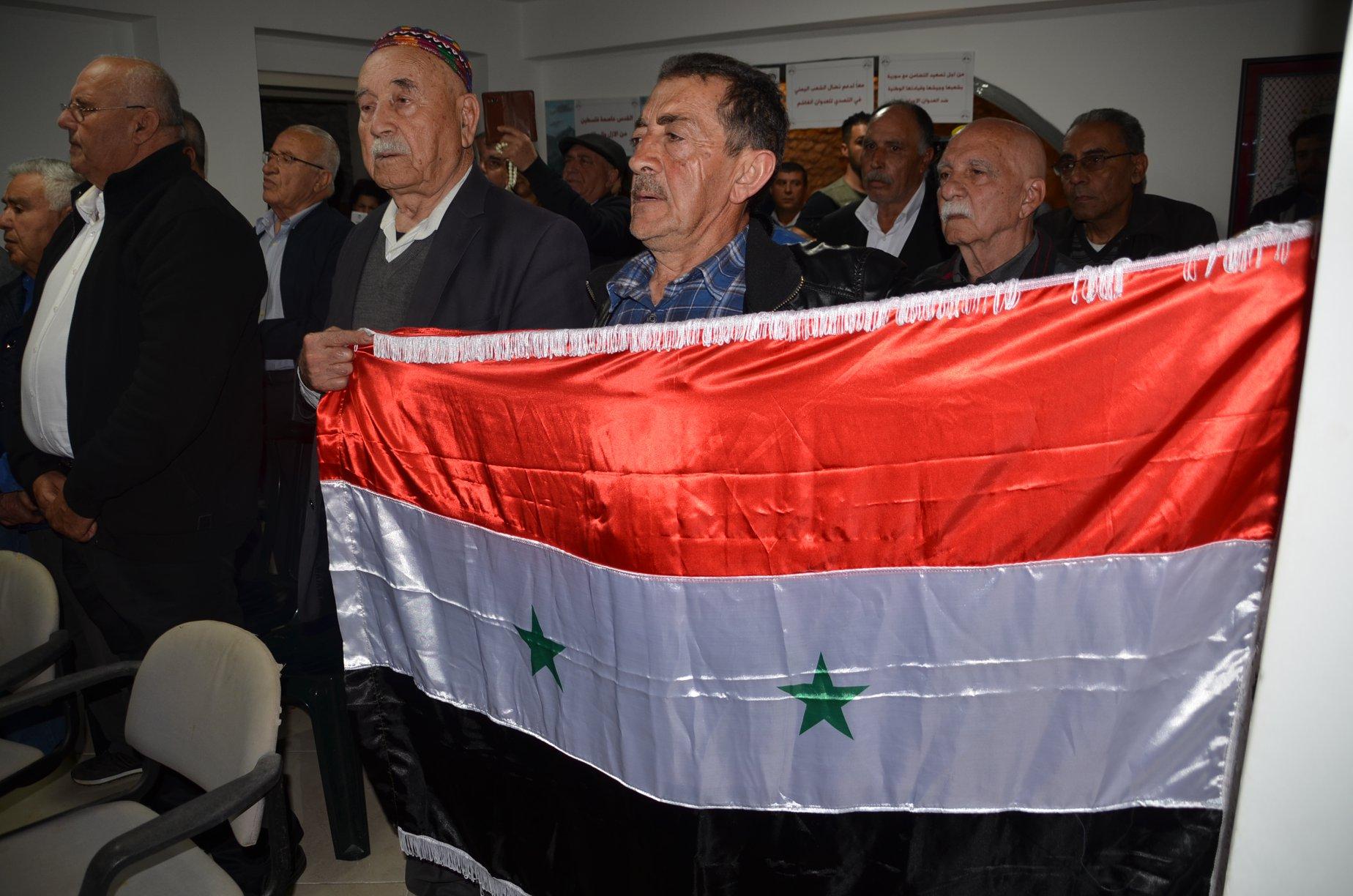 Photo of المركز الاخباري :تغطية الفعالية التضامنية في حيفا