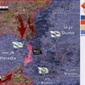 بالخريطة .. الجيش يتقدّم وحرستا قريباً ضمن القفص الذهبي
