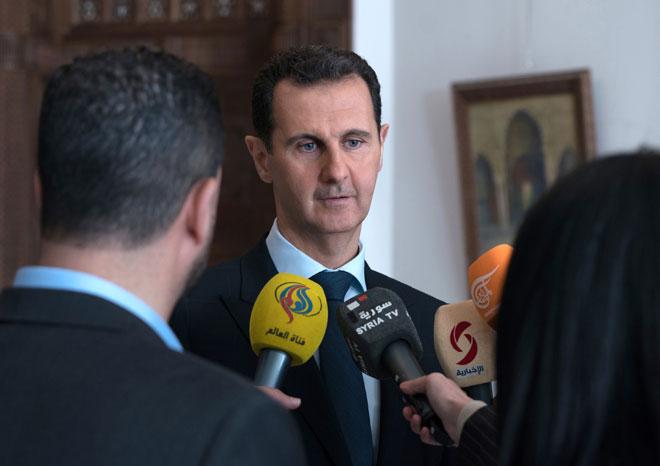 Photo of الأسد: عملية الغوطة الشرقية هي استمرار لمكافحة الارهاب