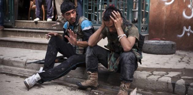 Photo of تقدّم الجيش يُجبر إرهابيي حرستا على تسليم أنفسهم