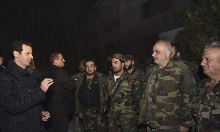 Photo of خطاب الأسد المنتصر بات قريباً.. وتحرير الغوطة اقترب