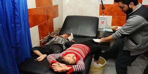 Photo of Two martyred, 18 civilians, mostly children and women, injured in terrorist attacks in Daraa