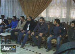 Photo of Nine abductees by terrorists in Aleppo countryside released