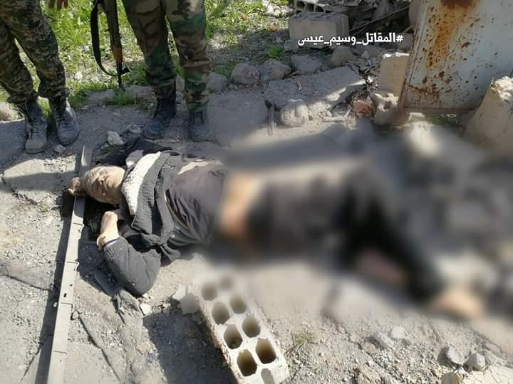 "Photo of قتلى الإرهاب في ""أوتايا""- الغوطة الشرقية"