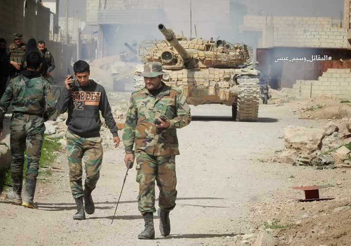 Photo of Syrian Army continues operations in Ghouta, inflicts heavy losses upon al-Nusra terrorists